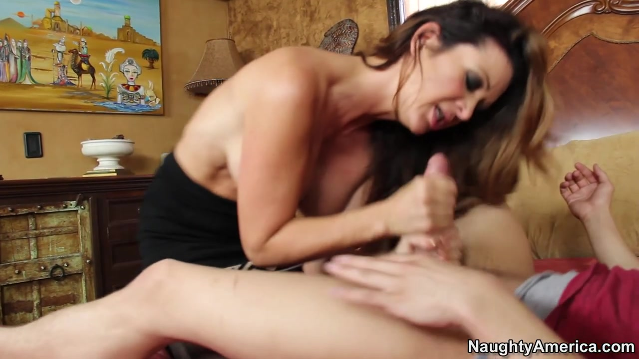 Friends Latina Mom Rides Me