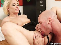 Ash Hollywood, Johnny Sins - Naughty Office