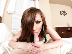 Spandex loads 3 with Lily Carter
